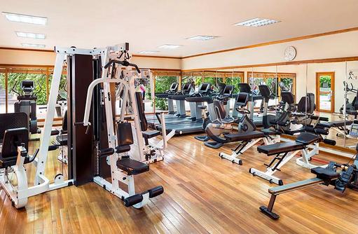 Fitnesscenter, Sheraton Full Moon Resort & SPA, Malediven