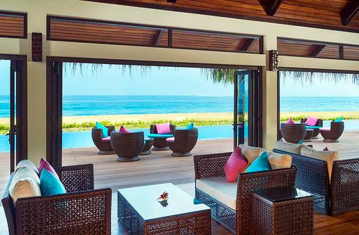 Sheraton Club Lounge, Innen, Sheraton Full Moon Resort & SPA, Malediven