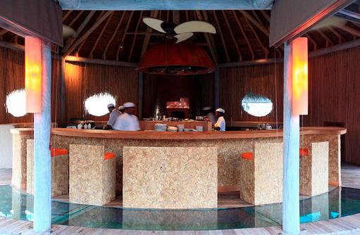Live Cooking, Six Senses Laamu, Malediven