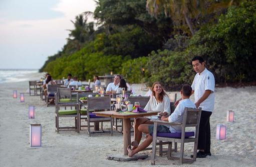 By The Beach Restaurant, Soneva Fushi, Maledives