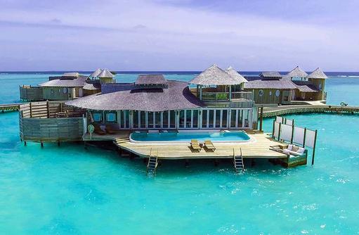 One Bedroom Wasservilla, Soneva Jani, Maldives