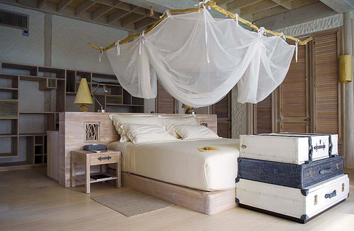 Schlafzimmer, 4 Bedroom Island Reserve, Soneva Jani, Maldives