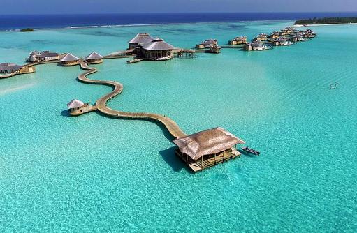 Ankunftssteg, Soneva Jani, Maldives