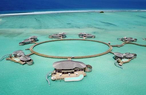 Areal Wasservillen, Soneva Jani, Maldives