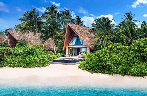 Beach Villa mit Pool, Aussenansicht I The St. Regis Vommuli
