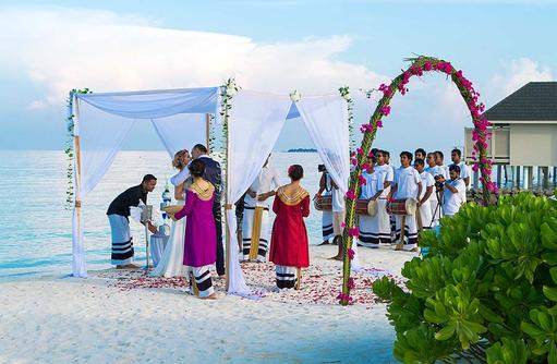 Hochzeitsfeier, Summer Island Maldives