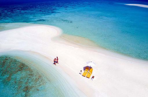 Sandbank, Summer Island Maldives
