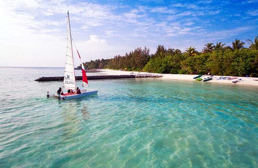 Katamaran, Wassersport, Summer Island Maldives