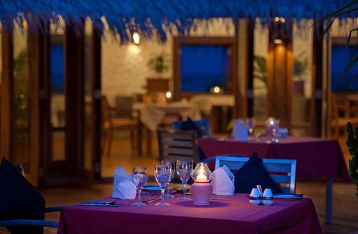 Dining, Dinner Table, Sun Aqua Vilu Reef Maldives