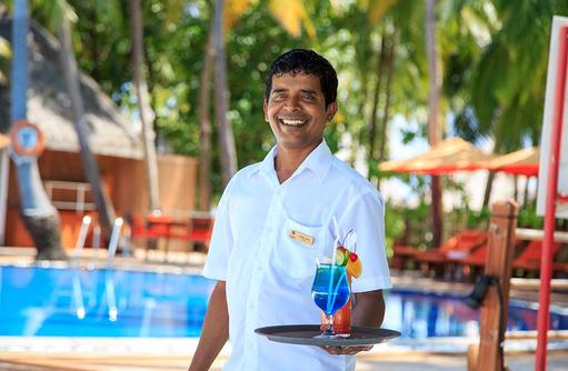 Barkeeper, Cocktails, Happy Staff, Sun Aqua Vilu Reef Maldives