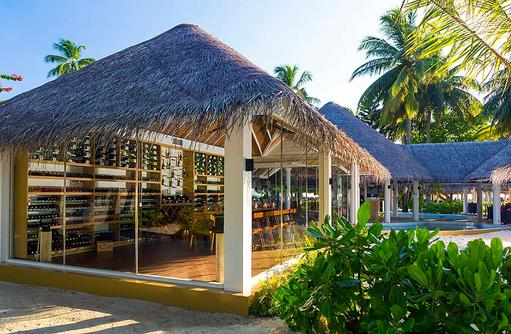 The Wine Cellar, Aussenansicht, Sun Aqua Vilu Reef Maldives