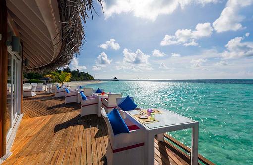 The Aqua Restaurant, Sonnenterrasse, Sun Aqua Vilu Reef Maldives
