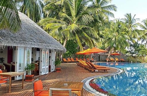 Poolbereich, Sun Aqua Vilu Reef Maldives