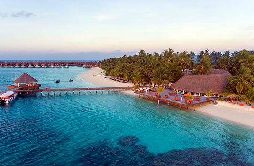 Nautilus Bar, Vogelperspektive, Sun Aqua Vilu Reef Maldives