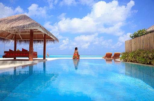 Deluxe Beach Villa with Pool, Model, Private Pool, Sun Aqua Vilu Reef Maldives