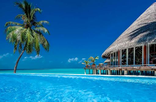 Pool und Nautilus Bar, Sun Aqua Vilu Reef Maldives