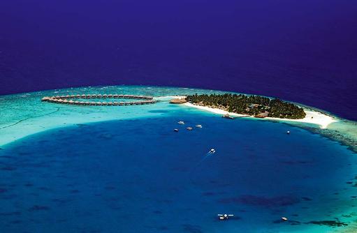 Luftansicht, Sun Aqua Vilu Reef Maldives