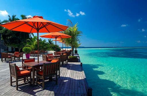 Nautilus Bar, Sonnenterrasse, Sun Aqua Vilu Reef Maldives