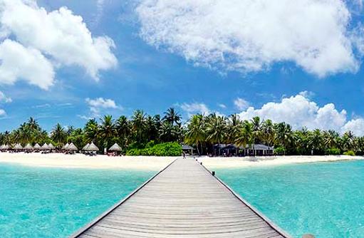 Steg zur Insel, Sun Island Resort & SPA, Maldives
