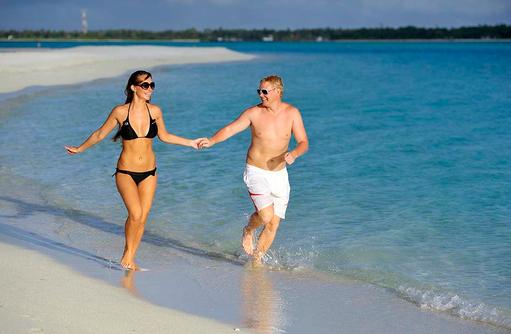 Strandspaziergang, Sun Island Resort & SPA, Maldives