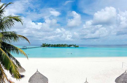 Strandaufnahme, Sun Island Resort & SPA, Maldives