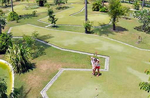 Golfplatz, Sun Island Resort & SPA, Maldives