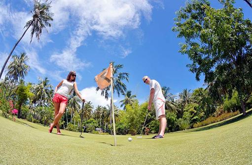 Golfloch, Sun Island Resort & SPA, Maldives
