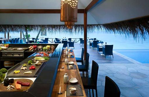 Grill am Pool, Taj Coral Reef Resort & Spa