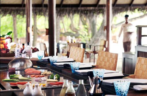 24 Degrees Restaurant, Teppanyaki I Taj Exotica Maldives Resort & SPA