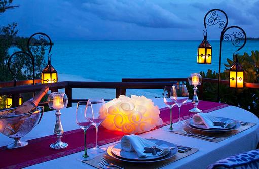 Privates Dinner in den Baumkronen, Tree Top Dining I Taj Exotica Maldives Resort & SPA