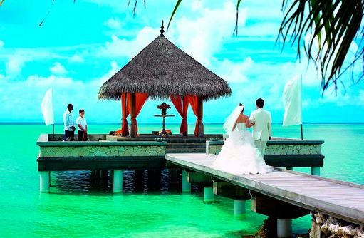 Wedding Pavillion, Heiraten auf den Malediven I Taj Exotica Maldives Resort & SPA