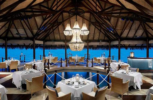 Restaurant The Deep End, Dinner I Taj Exotica Maldives Resort & SPA