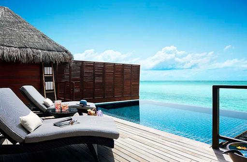 One Bedroom Ocean Suite mit Pool, Infinity Pool, Sonnendeck I Taj Exotica Maldives Resort & SPA
