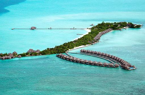 Luftaufnahme I Taj Exotica Maldives Resort & SPA
