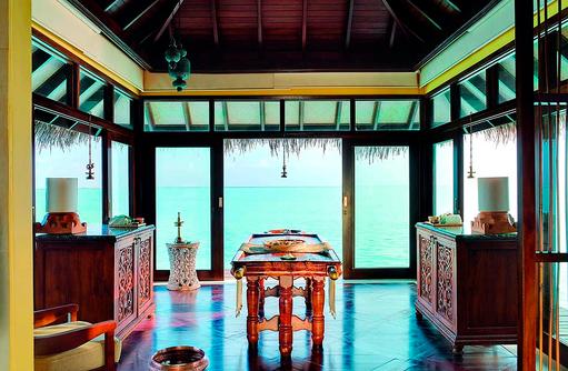 Jva Grand Spa, Ayurveda Behandlung I Taj Exotica Maldives Resort & SPA