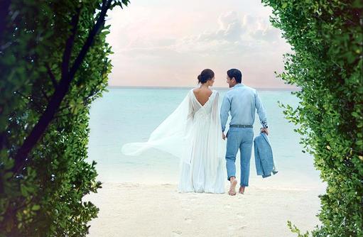 Heiraten auf den Malediven, Für immer und ewig an Deiner Seite I Taj Exotica Maldives Resort & SPA