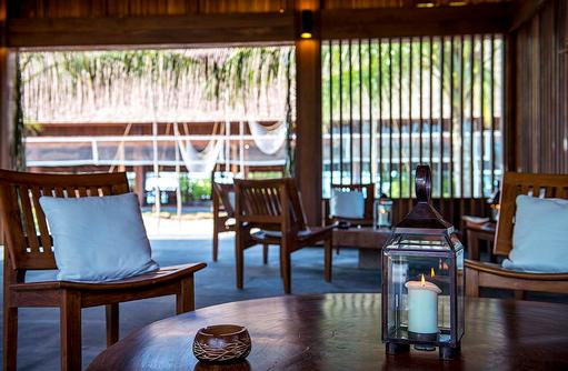 gemütliche Atmosphäre, Rezeption I The Barefoot Eco Hotel