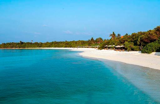 naturbelassene Insel, grünes Paradies I The Barefoot Eco Hotel