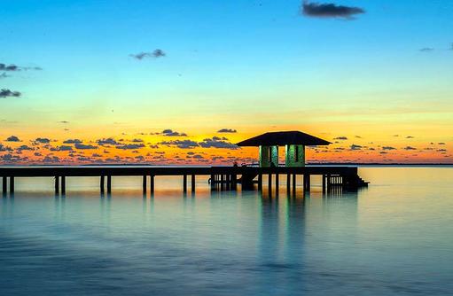 malerischer Sonnenuntergang I The Barefoot Eco Hotel