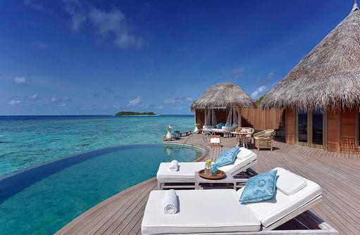 Pool und Terrasse, Ocean House, The Nautilus