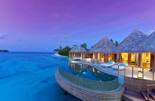 Ocean House im Sonnenuntergang, The Nautilus