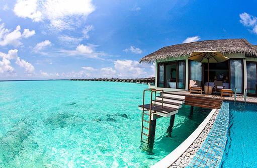 Water Pool Villa, The Residence Maldives at Falhumaafushi