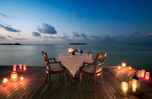 In Villa Private Dining, The Residence Maldives at Falhumaafushi
