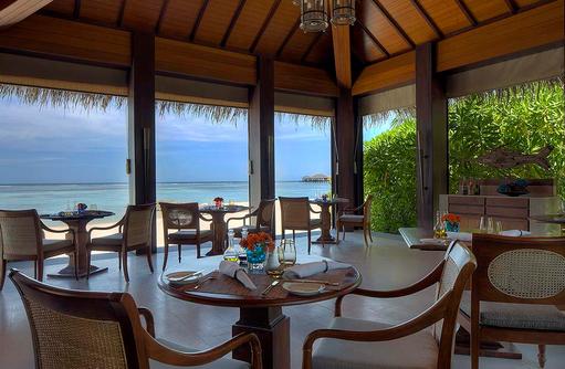 The Dining Room von Innen, The Residence Maldives at Falhumaafushi