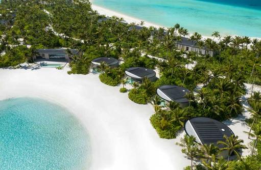 Two Bedroom Beach Pool Villa Aerial, The Ritz Carlton Maldives, Fari Islands