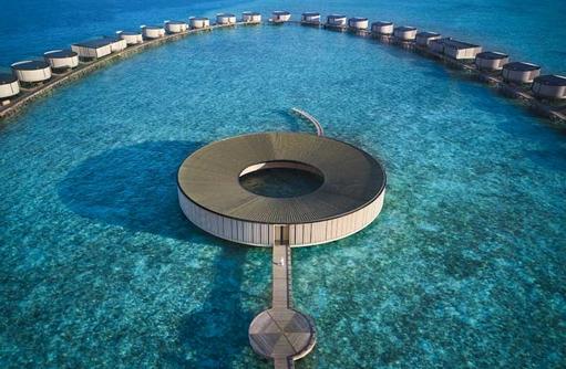 Spa Aerial, The Ritz Carlton Maldives, Fari Islands