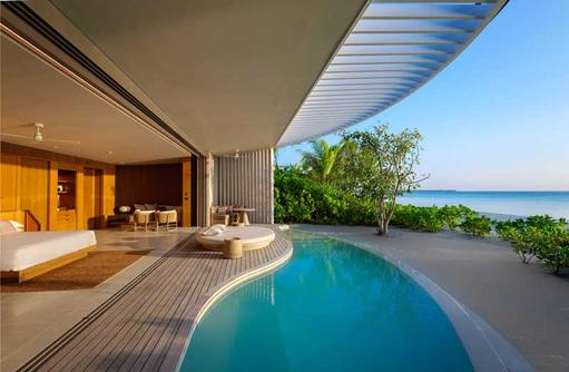Terrasse Pool, The Ritz Carlton Maldives, Fari Islands