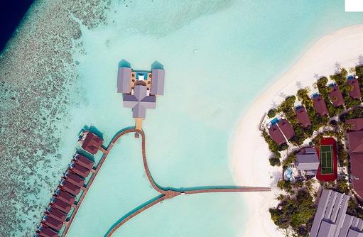 Overwater villas, Spa | The Standard, Huruvalhi Maldives