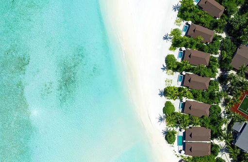 Ocean, Beach, Pool, Villas | The Standard, Huruvalhi Maldives