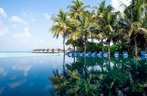 Infinity Pool, The Sun Siyam Iru Fushi, Maldives